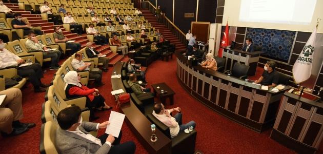 Karatay Belediye Meclisi haziran ayı toplantısını yaptı