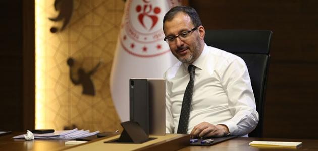 Bakan Kasapoğlu'ndan Şampiyonlar Ligi açıklaması