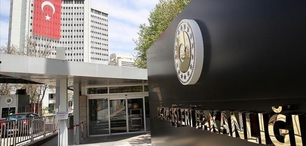 Dışişleri Bakanlığı: Fransa Suriye'de olduğu gibi Libya'da da karanlık işler peşinde