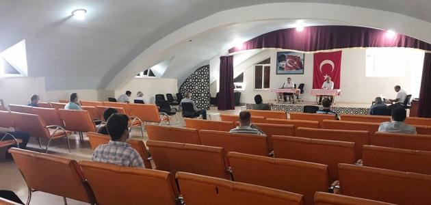 Kulu'da LGS toplantısı yapıldı