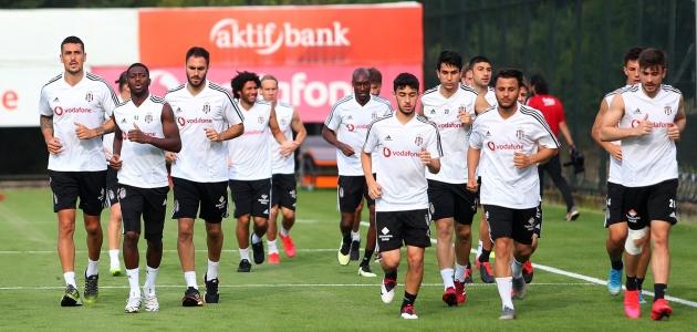 Beşiktaş, Konyaspor maçı hazırlıklarını sürdürdü