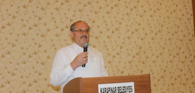 Karapınar Belediye Başkanı Yaka, muhtarlarla buluştu
