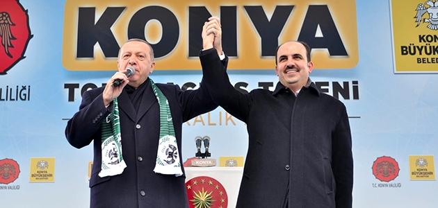 Başkan Altay Cumhurbaşkanı Erdoğan'a teşekkür etti