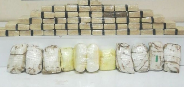 Gaziantep'te 15 kilo 400 gram eroin ele geçirildi