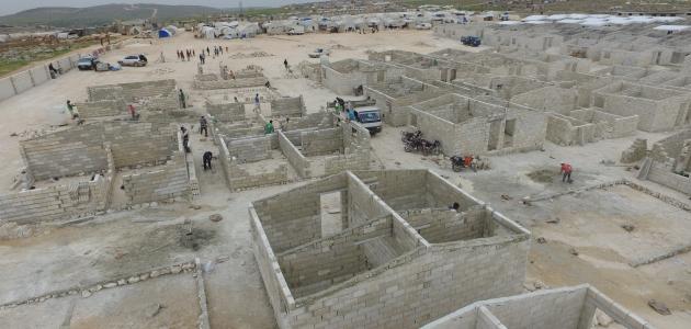 İHH İdlib'de 120 bin sığınmacıya sıcak yuva için çalışıyor
