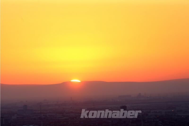 Konya'da gün doğumu