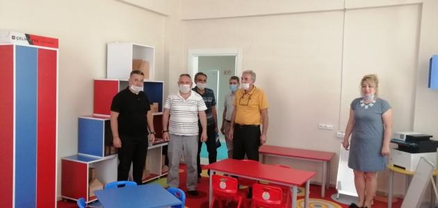 Bozkır Milli Eğitim Müdürlüğü ekipleri incelemelerde bulundu
