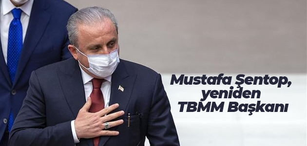 AK Parti Tekirdağ Milletvekili Mustafa Şentop, yeniden TBMM Başkanı seçildi