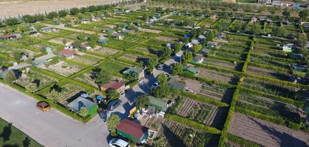 Vatandaşlar Karatay'ın bireysel konseptli parklarını tercih etti