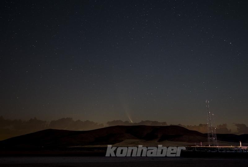 Neowise kuyruklu yıldız, Konya  semalarında gözlendi