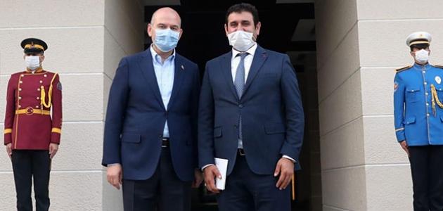 İçişleri Bakanı Süleyman Soylu'ya ziyaret