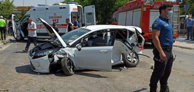 Konya'da trafik kazası: 1 ölü 5 yaralı