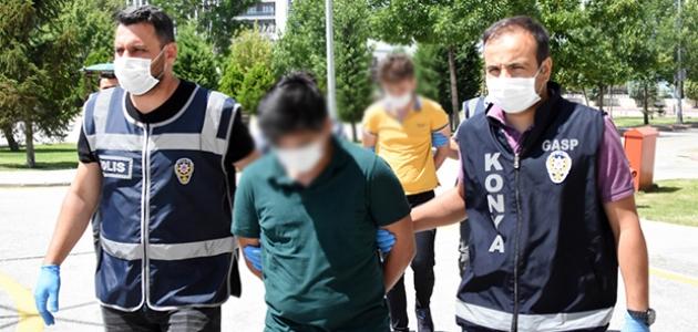 Konya'daki kuyumcu soygununu önceden planlamışlar