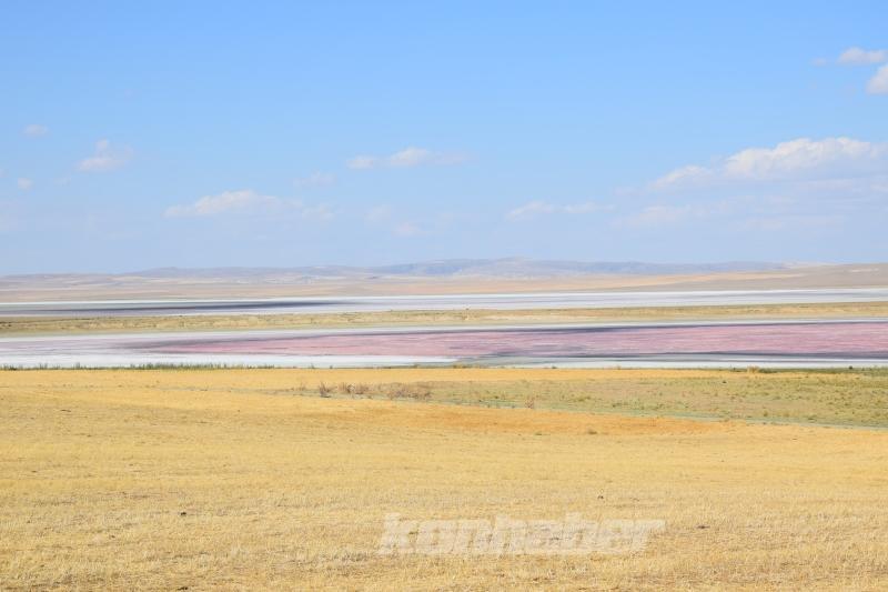 Konya'daki Düden Gölü kurudu