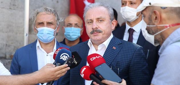 TBMM Başkanı Mustafa Şentop'tan Doğu Akdeniz değerlendirmesi