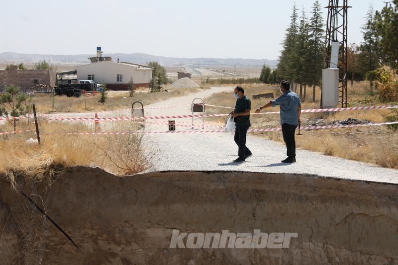 Konya'da obruk oluşabilecek bölgeler uydu görüntüleriyle tespit edilecek