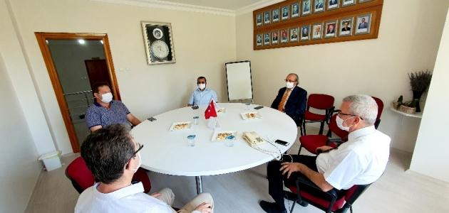 Konya Vali Yardımcısı Aydın Konya Tabip Odası'nı ziyaret etti