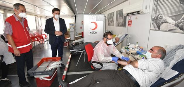 Başkan Kılca: kan stoklarına destek vermek hepimizin görevi