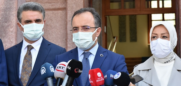 İsmail Çataklı, Malatya'da Deprem Değerlendirme Toplantısı'na katıldı