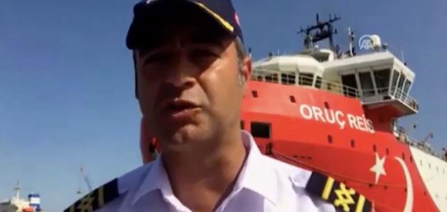 Oruç Reis gemisinin kaptanı: Mavi Vatan'da görev yapmak gurur ve onur