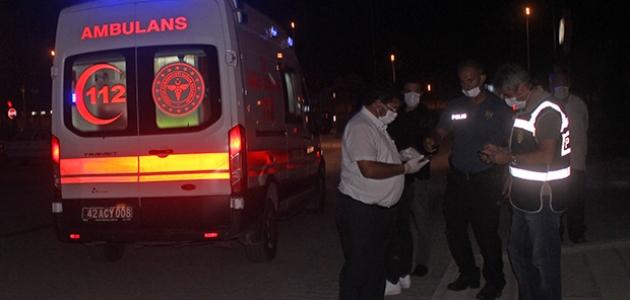 Konya'da iki aile arasında silahlı kavga: 1'i polis 6 yaralı