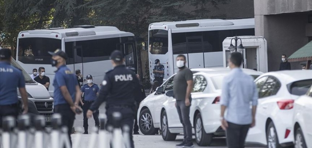 Kobani eylemleri soruşturmasında 20 şüpheli adliyeye sevk edildi