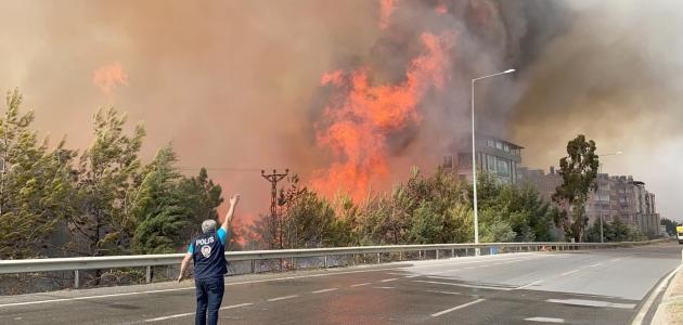 Hatay yangınından yansıyan fotoğraflar