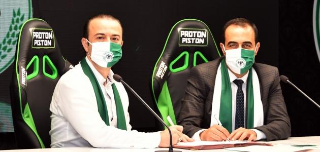Konyaspor,  sağlık sponsorluğu anlaşmasını yeniledi