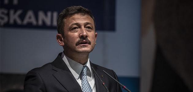 AK Parti Genel Başkan Yardımcısı Hamza Dağ'ın Kovid-19 testi pozitif çıktı