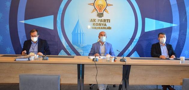 AK Parti Konya'da ilçe başkanları toplantısı yapıldı
