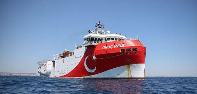 Oruç Reis'in Doğu Akdeniz'deki çalışma süresi uzatıldı