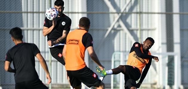 Konyaspor'da Gaziantep FK maçı hazırlıkları