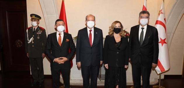 AK Parti Konya Milletvekili Erdem'den KKTC Cumhurbaşkanı Tatar'a ziyaret