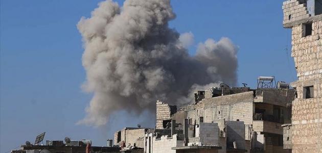 Rus savaş uçakları İdlib'de Suriye Milli Ordusu güçlerini vurdu