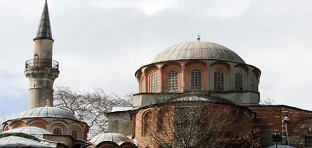 Kariye Camii'nin açılışı ertelendi