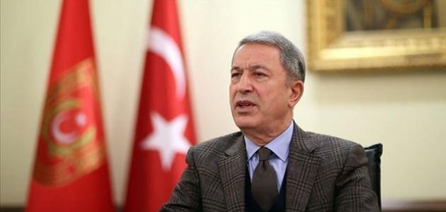 Bakan Akar: Türkiye Karabağ'daki anlaşmada hem masada hem sahadadır