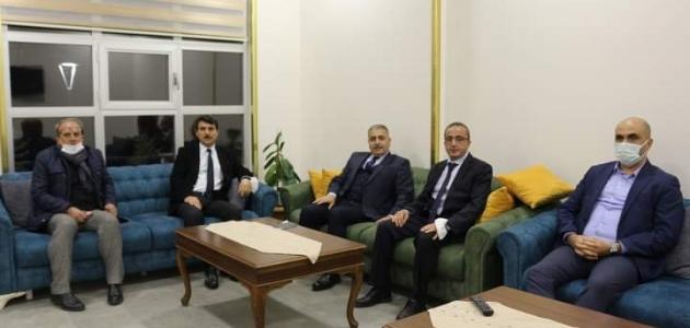MEB Daire Başkanı Kulu'yu ziyaret etti