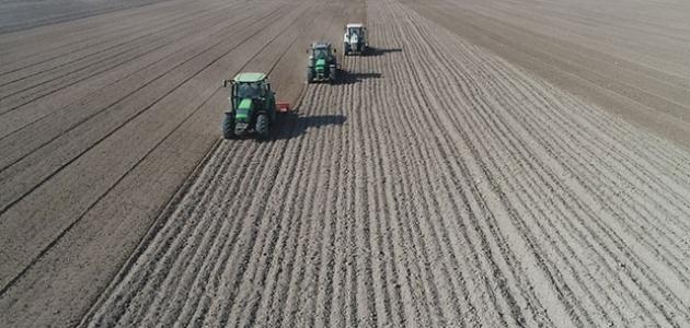 700 bin metrekare arazi üretime ve ekonomiye kazandırılıyor