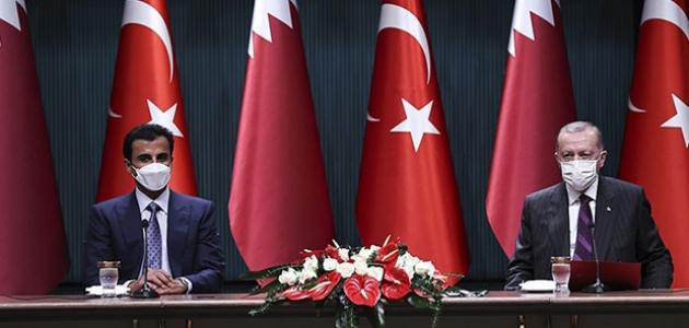 Cumhurbaşkanı Erdoğan: Katar halkıyla dayanışmamızı güçlendirerek sürdüreceğiz