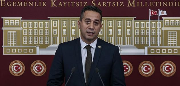 CHP Milletvekili Başarır'a TSK'ya yönelik sözleri nedeniyle soruşturma