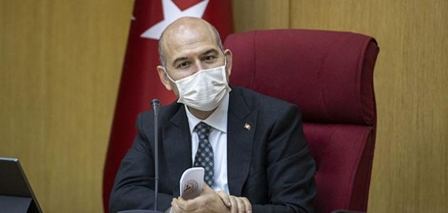 Bakan Soylu, Kahramanmaraş'ta şehit olan polisin ailesine başsağlığı diledi