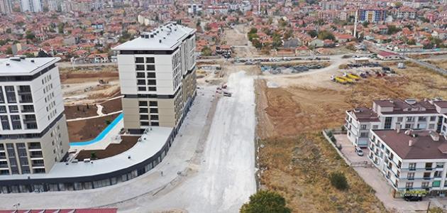 Büyükşehir'den Meram'a yeni bir cadde