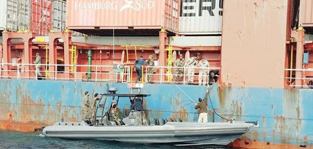 Hafter güçlerinin alıkoyduğu Türk gemisinde yeni gelişme