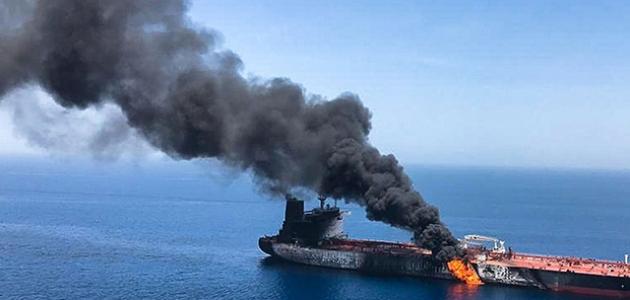 Suudi Arabistan'ın petrol tankerine saldırı