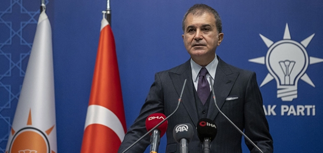 AK Parti Sözcüsü Çelik'ten ABD'nin yaptırım kararına tepki