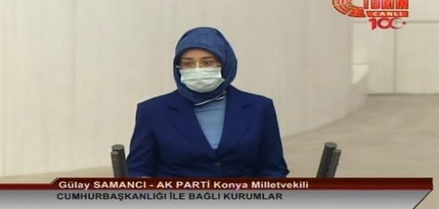 Samancı: Dostlarımıza güven veren, düşmanlarımıza korku salan bir Türkiye var
