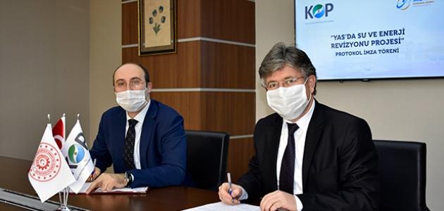 KOP bölgesindeki su ve enerji verimliliğini artırmayı hedefleyen proje için imzalar atıldı