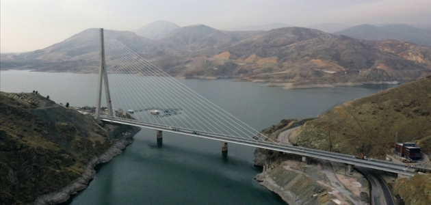 'Kömürhan Köprüsü ve Bağlantı Tüneli' yarın hizmete girecek