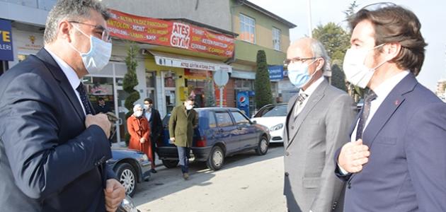 AK Parti Konya Milletvekili Erdem'den Çumra'ya ziyaret