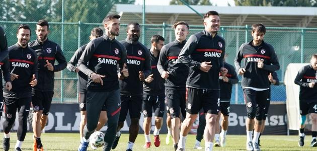 Gaziantep FK'de Konyaspor maçı hazırlıkları